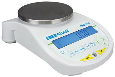 Adam NBL Nimbus Top Loading Balance, 1600g x 0.01g (external calibration)