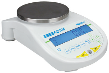 Adam NBL Nimbus Top Loading Balance, 4600g x 0.01g (external calibration)