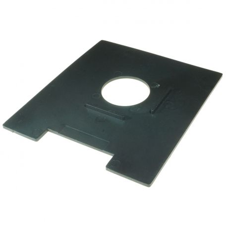 Optical Bench, spares plate, square, for transparencies