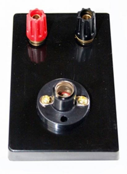 Lamp holder, MES with terminals