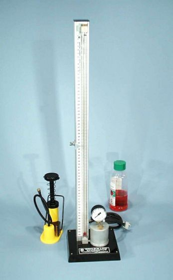 Boyle's Law Apparatus,  high pressure - glass tube only
