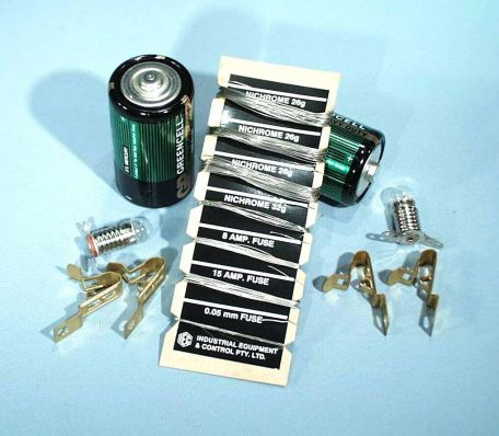 Circuit kit,  spare - fuse wire, 0.05mmx10m roll