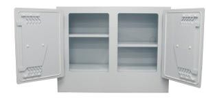 Polystore Chemical Storage Cabinet, 100L - 2 doors