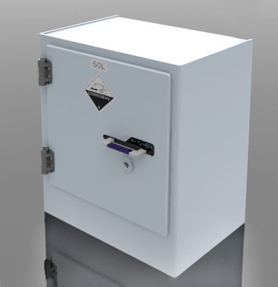 Polystore Chemical Storage Cabinet, 50L - 1 door