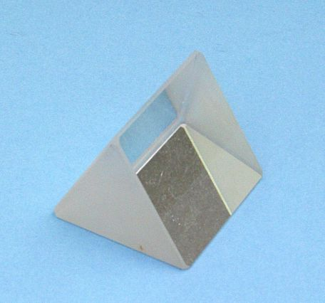 Glass prism, 38mm equilateral