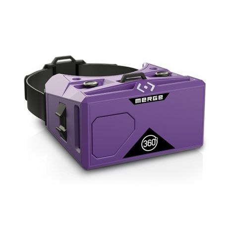 Merge Mobile AR/VR Headset (Purple)