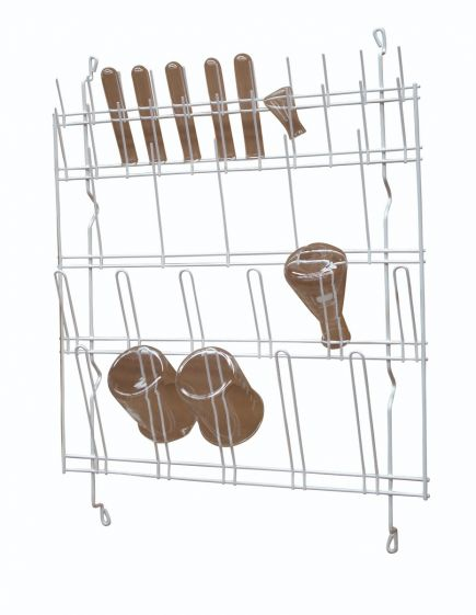 Draining rack, wall mounted, 57 x 60cm