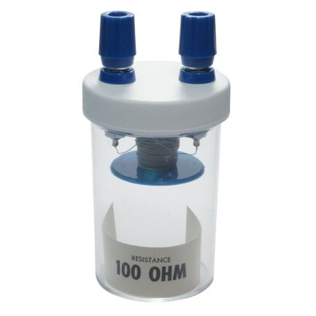Resistance Coil in plastic vial - 100 ohm