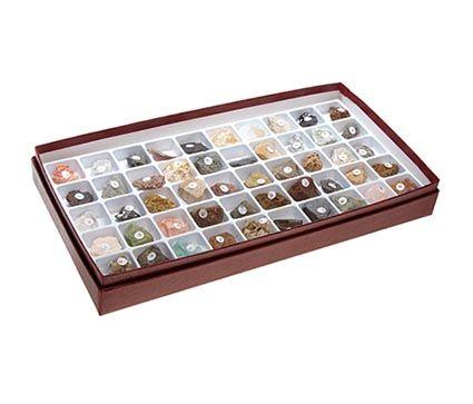 Rocks & Minerals Set, 50 pcs