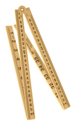 Ruler, folding metre