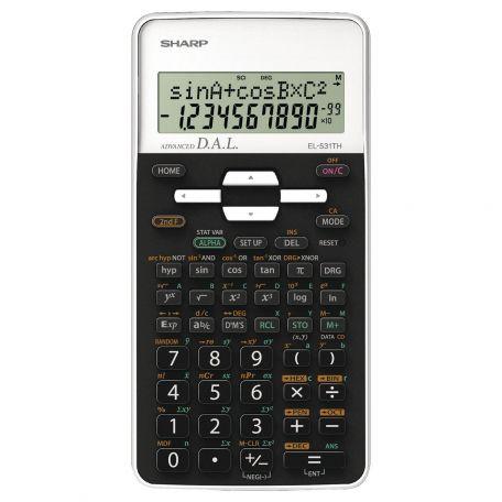 Sharp EL-531 THB-WH Scientific Calculator