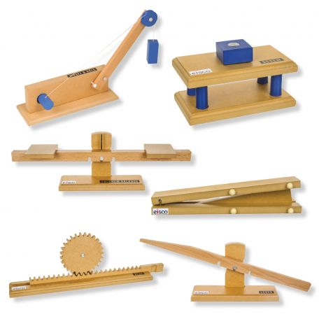 Simple Machines, kit B, set/6