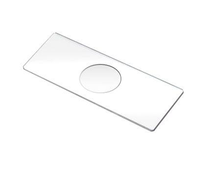 Single cavity slides, 75 x 25mm, box/50