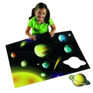Foam Floor puzzle, Solar System