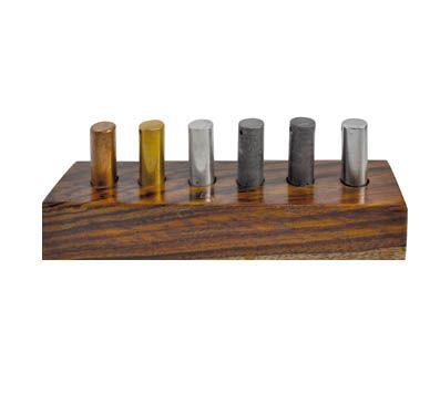 Equal volume cylinders - set of 6