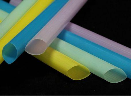Plastic straws, extra large, pkt/3000