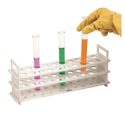 Test Tube Rack, PP, 13mm x 31 place