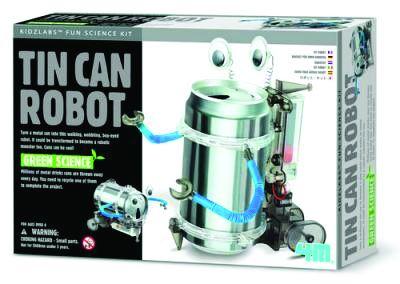 Tin can robot kit
