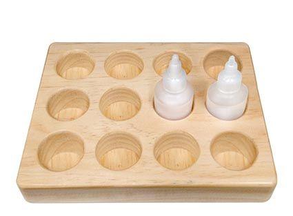 Stull bottle tray, 50/125ml, 12 place