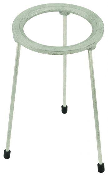 Tripod, round, cast iron