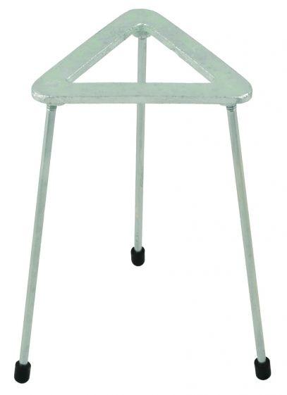 Tripod, triangular, cast iron