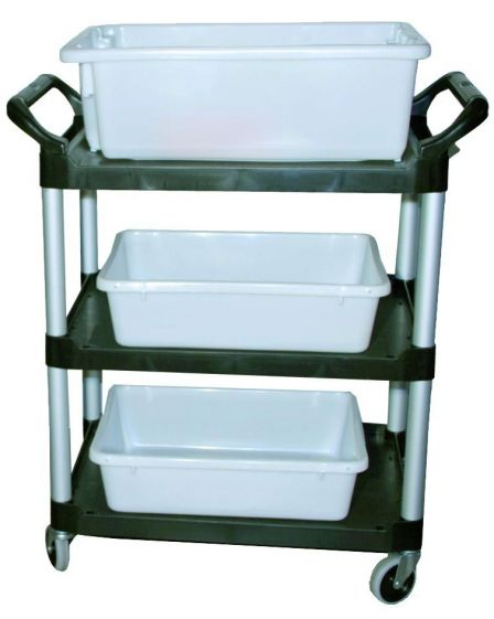 Lab Mate Junior trolley with 1pc No. 7 crate and 2pc No. 5 crate to fit