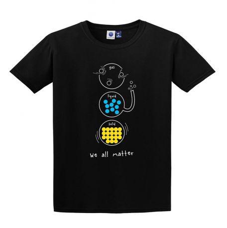 T-shirt, States of Matter