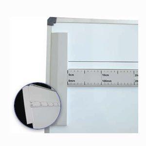 Ruler, magnetic metre T-square