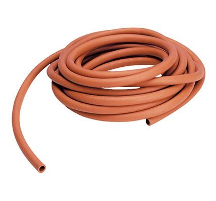 Rubber tubing, 8mm ID x 4mm wall, 15m coil