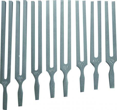 Tuning forks, aluminium