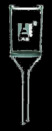 Buchner funnel, glass, with sintered disc, 200ml, porosity 3