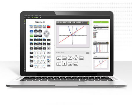 TI-SmartView™ CE Emulator Software for the TI-84 Plus Family