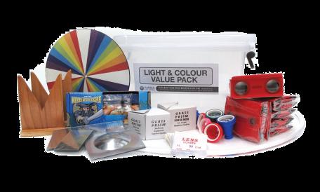 Light & colour value pack