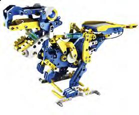 12 in 1 Solar Hydraulic Robot Kit