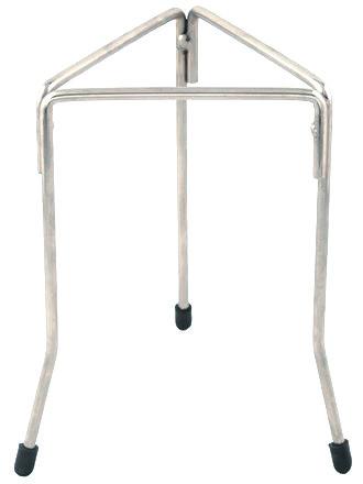 Tripod, triangular, stainless steel, 20cm high