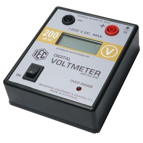 Digital Voltmeter, +/- 200V.DC. x 0.1V