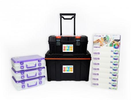 littleBits Code Education Class Pack For 24 Students With Free Storage Kit