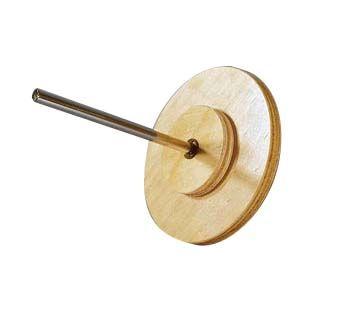 Wheel & axle, wooden
