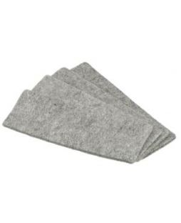 Magnetic Whiteboard Eraser replacement pads, pk/10