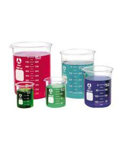 Beaker, Bomex, low form, borosilicate glass