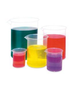 Beaker, polypropylene, low form