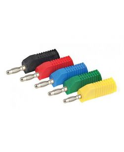 Banana plugs, stackable, pk/10