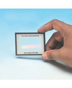 Diffraction Grating - Card mounted - 100 lines/mm