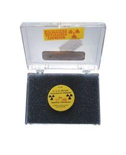 Radioactive sources, disc