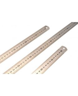 Rulers, stainless steel