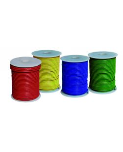 Wires, coloured, light duty, hookup